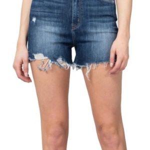 Flying Monkey Ultra High Rise Jean Shorts 28/29